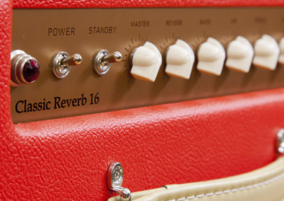 mpf classic reverb 16 rojo detalle