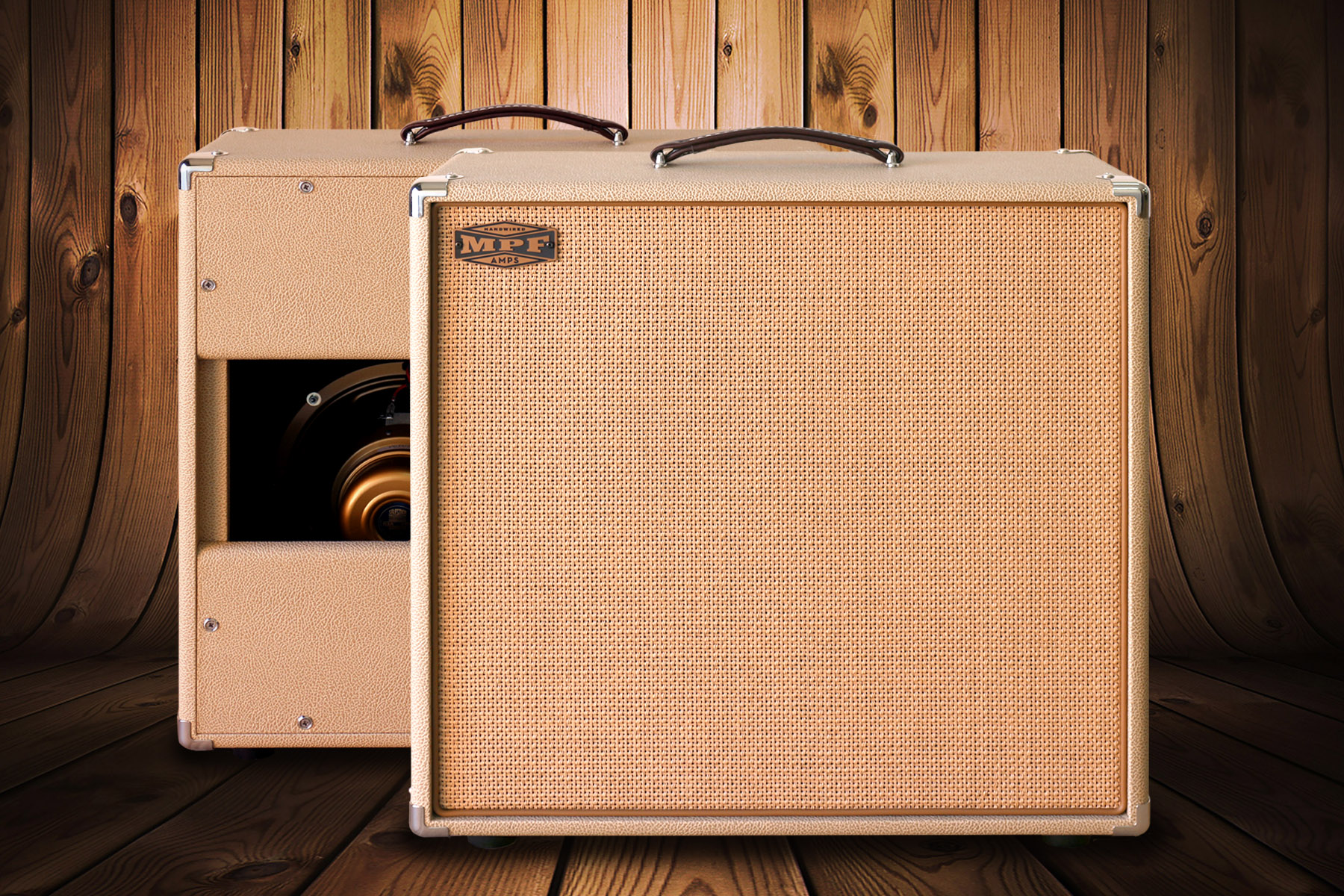 2x10 Speaker Cabinet - MPF HANDWIRED AMPS